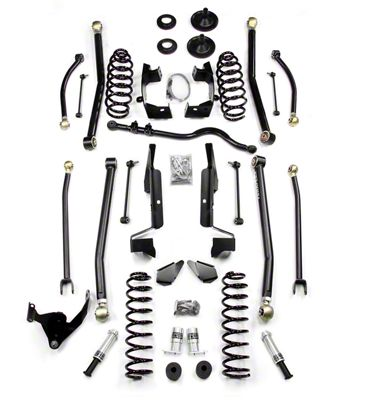 Teraflex 3 in. Elite LCG Long Arm Suspension System w/o Shocks (07-18 Jeep Wrangler JK 2 Door)