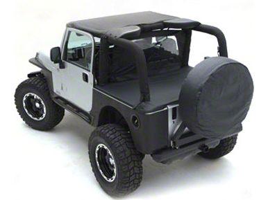 Smittybilt Standard Top - Black Denim (87-91 Jeep Wrangler YJ)