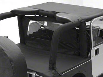 Smittybilt Tonneau Cover - Black Diamond (07-18 Jeep Wrangler JK 4 Door)