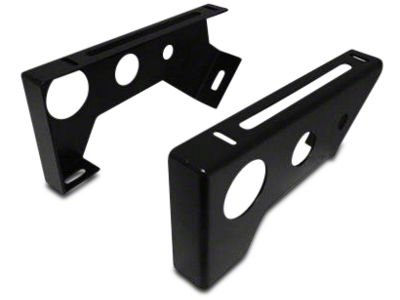 Smittybilt Seat Adapters - Rear - All Seats - Includes Driver & Passenger Side (07-18 Jeep Wrangler JK 4 Door)