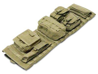 Smittybilt GEAR Overhead Console - O.D. Green (07-18 Jeep Wrangler JK)
