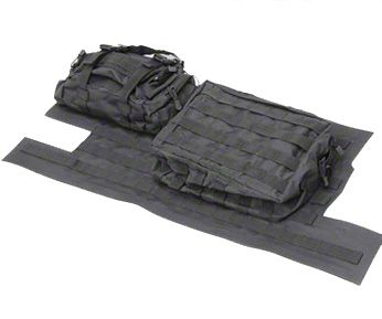 Smittybilt G.E.A.R. Tailgate Cover - Black (97-06 Jeep Wrangler TJ)