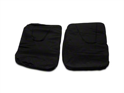Smittybilt Storage Bag - Hard Doors - Pair - Black (07-18 Jeep Wrangler JK)