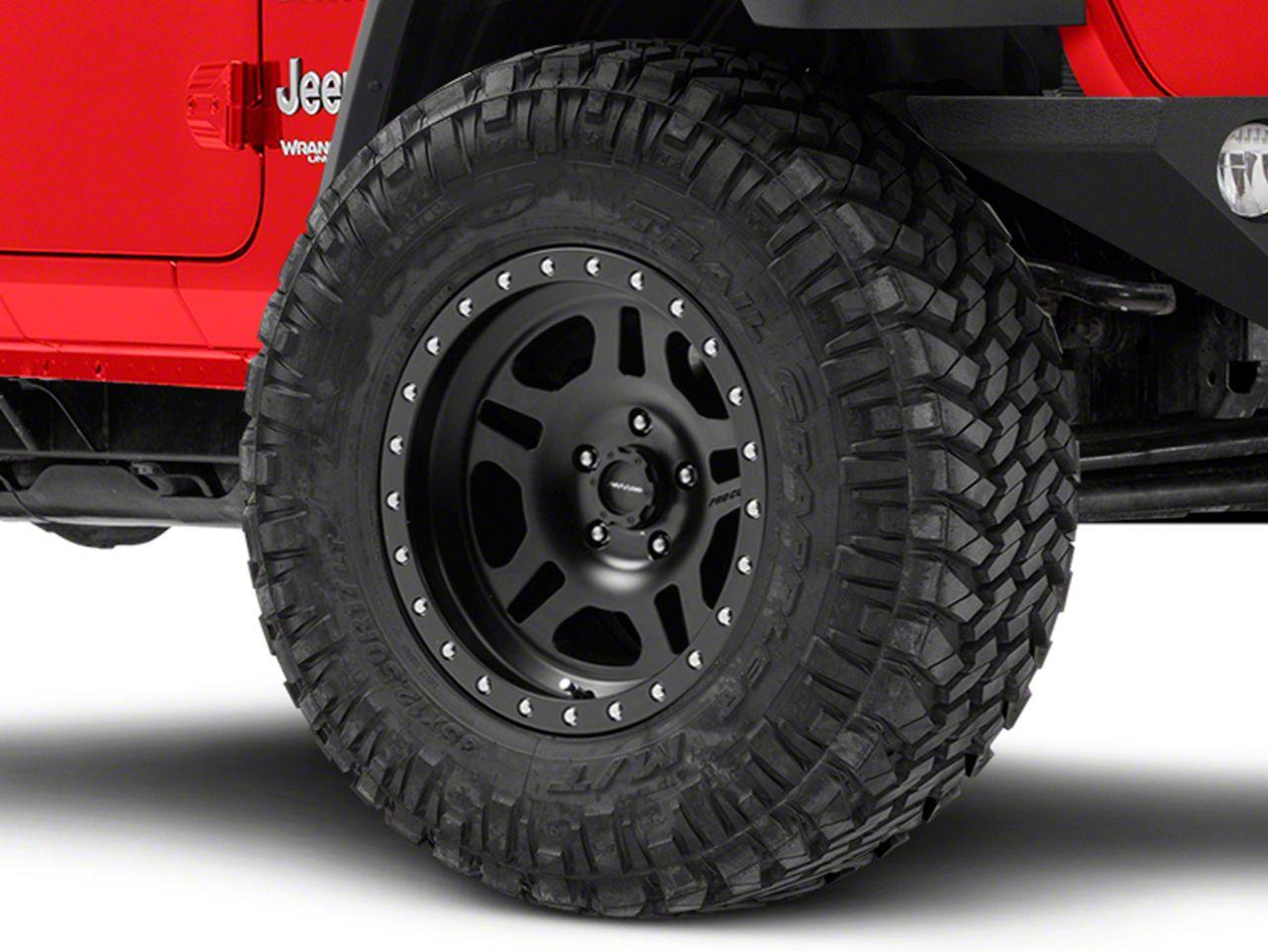 Pro Comp Wheels La Paz Series 5029 Black Wheel - 17x8.5 (18-19 Jeep Wrangler JL)