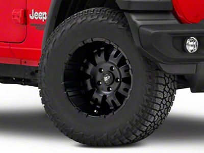 Pro Comp Alloy Series 5001 Satin Black Wheel - 17x9 (18-19 Jeep Wrangler JL)