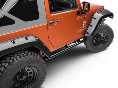ARB Rock Sliders - Satin Black (07-18 Jeep Wrangler JK 2 Door)