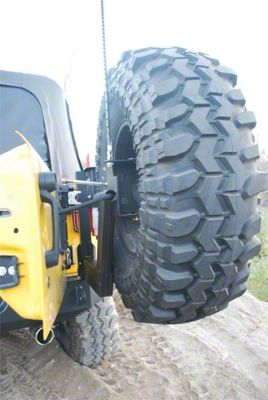 Hyline Offroad Standard Tire Carrier Assembly (07-18 Jeep Wrangler JK)