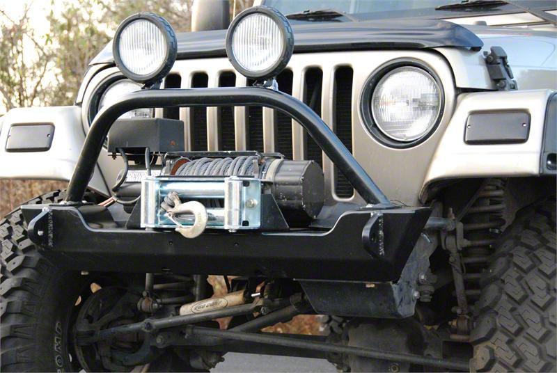 Hyline Offroad Crawler Front Bumper (87-06 Jeep Wrangler YJ & TJ)