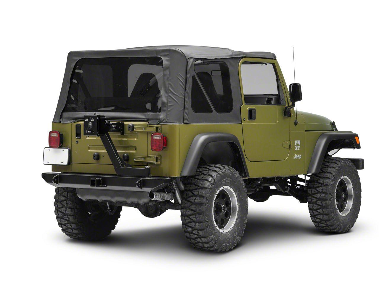 Hyline Offroad Standard Tire Carrier Assembly (87-06 Jeep Wrangler YJ & TJ)