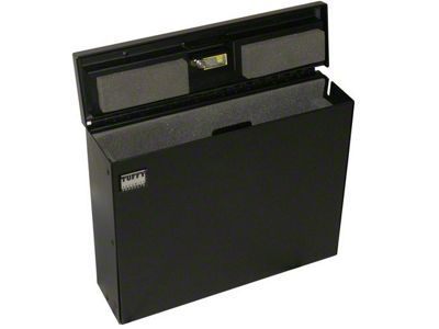 Tuffy Laptop Computer Security Lockbox (87-19 Jeep Wrangler YJ, TJ, JK & JL)