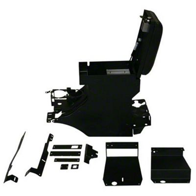 Tuffy Security Full Console - Deluxe (11-18 Jeep Wrangler JK)