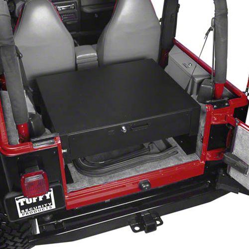 Tuffy Rear Cargo Security Drawer (87-06 Jeep Wrangler YJ & TJ)