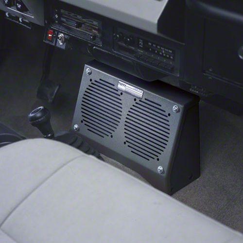Tuffy Dual Speaker Security Box (87-95 Jeep Wrangler YJ)