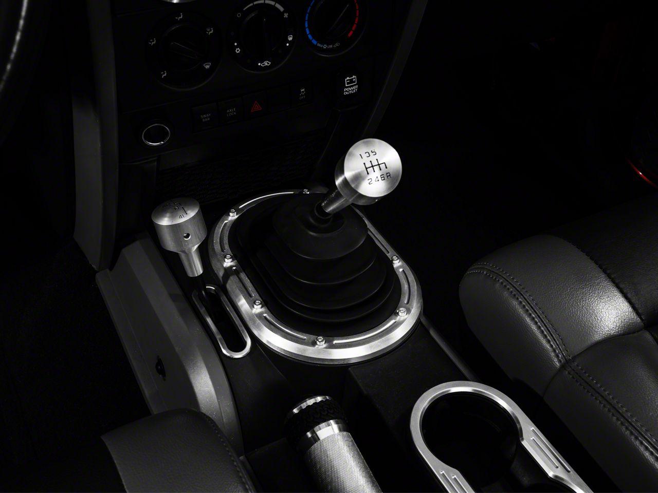 Drake Off Road M/T Shifter Bezel (07-10 Jeep Wrangler JK)