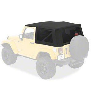 Bestop Sailcloth Replace-A-Top w/ Tinted Windows - Black Diamond (07-09 Jeep Wrangler JK 2 Door)