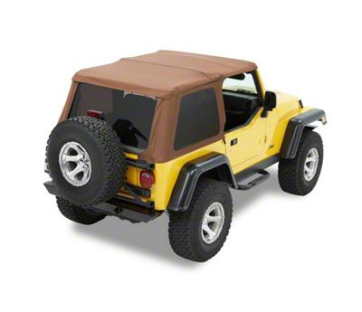 Bestop Trektop NX Soft Top - Spice (97-06 Jeep Wrangler TJ, Excluding Unlimited)