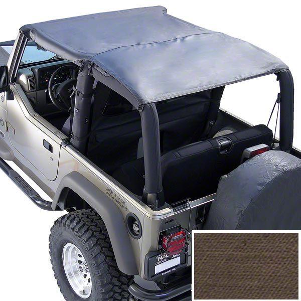 Rugged Ridge Pocket Island Topper - Khaki Diamond (97-06 Jeep Wrangler TJ)