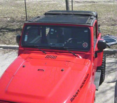 Dirty Dog 4x4 Front Seat Sun Screen (03-06 Jeep Wrangler TJ)