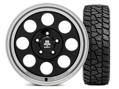 Mammoth 8 16x8 Wheel & Mickey Thompson Baja ATZP3 LT285/75R16 Tire Kit (87-06 Jeep Wrangler YJ & TJ)