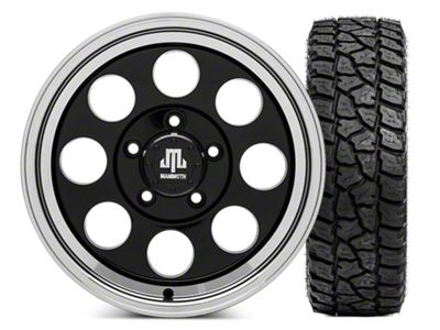 Mammoth 8 Wheel - 16x8 Wheel - and Mickey Thompson Baja ATZP3 LT285/75R16 Tire Kit (07-18 Jeep Wrangler JK)
