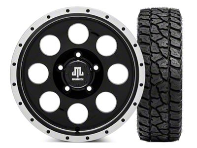 Mammoth 8 Beadlock Wheel - 16x8 Wheel - and Mickey Thompson Baja ATZP3 LT285/75R16 (07-18 Jeep Wrangler JK)