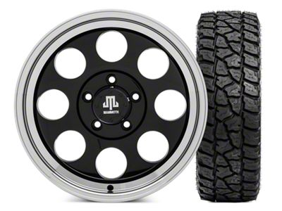 Mammoth 8 Wheel - 17x9 Wheel and Mickey Thompson Baja ATZP3 LT265/70R17 Tire Kit (07-18 Jeep Wrangler JK)