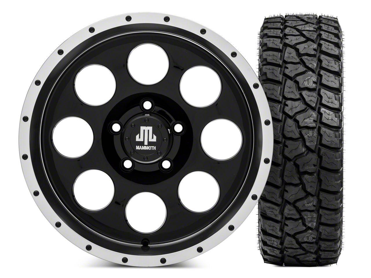 Mammoth 8 Beadlock Wheel - 17x9 and Mickey Thompson Baja ATZP3 LT285/70R17 (07-18 Jeep Wrangler JK)