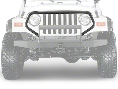 Olympic 4x4 Brush Guard - Textured Black (97-06 Jeep Wrangler TJ)