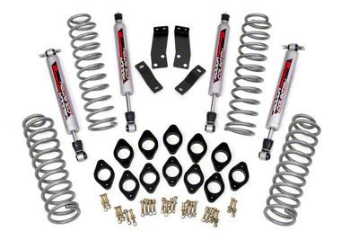 Rough Country 3.75 in. Lift Kit w/ Shocks (07-18 Jeep Wrangler JK 2 Door)