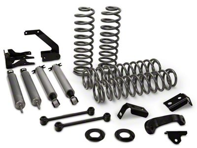 Rough Country 4 in. Suspension Lift Kit w/ Shocks (07-18 Jeep Wrangler JK 2 Door)