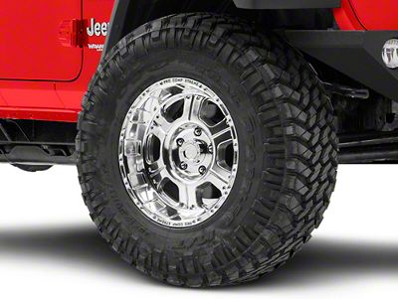 Pro Comp Series 1089 Polished Wheel - 17x9 (18-19 Jeep Wrangler JL)