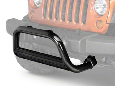 Rugged Ridge 3 in. Bull Bar - Black (10-18 Jeep Wrangler JK)