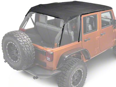 Rugged Ridge Pocket Island Top - Black Diamond (10-18 Jeep Wrangler JK 4 Door)