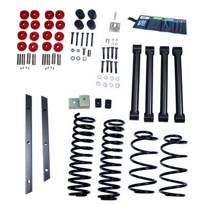 Rugged Ridge 2 in. Lift Kit w/ Shocks (97-02 Jeep Wrangler TJ)