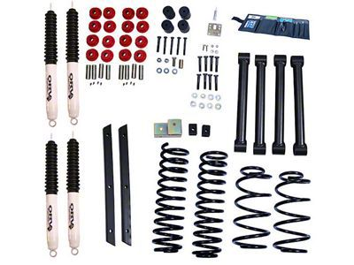 Rugged Ridge 2 in. Lift Kit w/ Shocks (03-06 Jeep Wrangler TJ Rubicon)