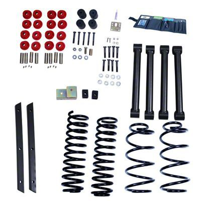 Rugged Ridge 2 in. Lift Kit w/ Shocks (04-06 Jeep Wrangler TJ Unlimited)