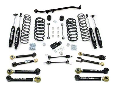 Teraflex 3 in. Lift Kit w/ Shocks (97-06 Jeep Wrangler TJ)