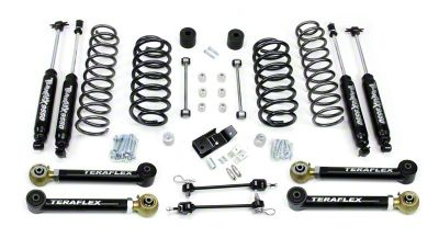 Teraflex 3 in. Lift Kit w/ Shocks & FlexArms (97-06 Jeep Wrangler TJ)