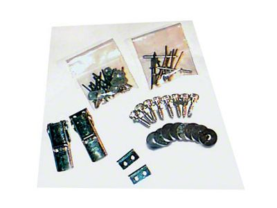 Lange Kwick Kit II Top Hardware (87-95 Jeep Wrangler YJ)