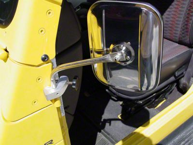 Lange Mirror I - Black (97-06 Wrangler TJ)