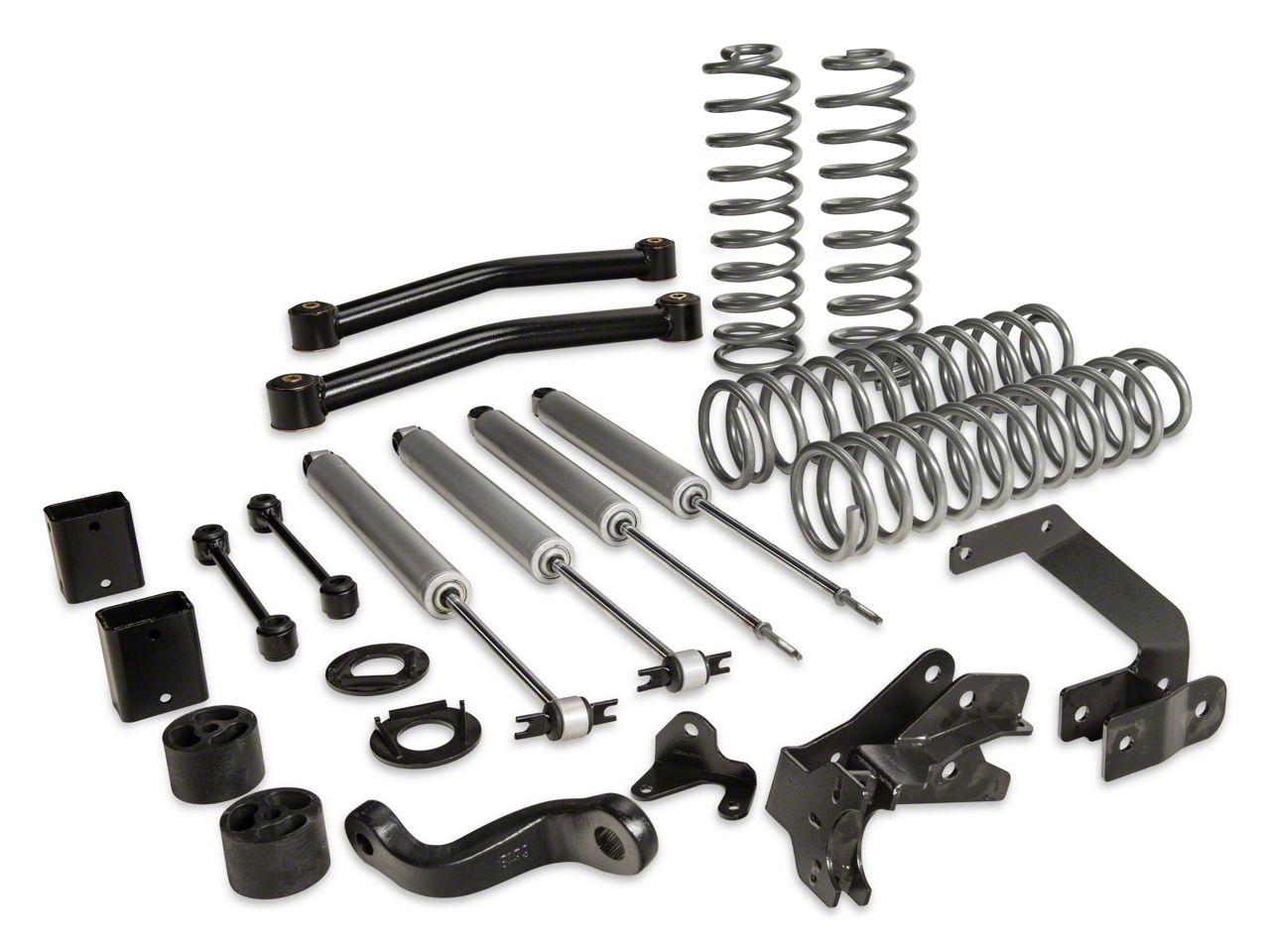 Rough Country 3.5 in. Series II Lift Kit w/ Shocks (07-18 Jeep Wrangler JK 4 Door)