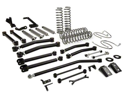 Rough Country 6 in. X-Series Suspension Lift kit w/ Shocks (07-18 Jeep Wrangler JK 4 Door)