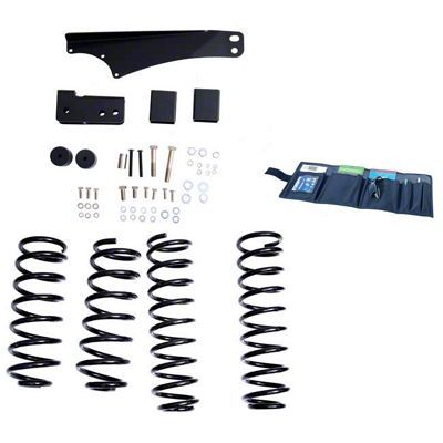 Rugged Ridge 2.5-3.5 in. Lift Kit w/ Shocks (07-18 Jeep Wrangler JK)