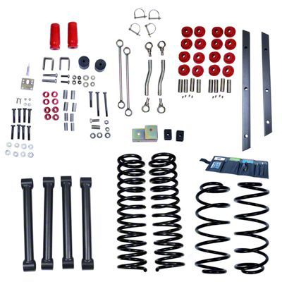 Rugged Ridge 4 in. Lift Kit w/ Shocks (97-02 Jeep Wrangler TJ)