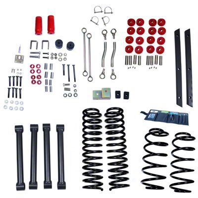 Rugged Ridge 4 in. Lift Kit w/ Shocks (03-06 Jeep Wrangler TJ)