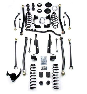 Teraflex 4 in. Elite LCG Long Arm Suspension System w/ Shocks (07-18 Jeep Wrangler JK 2 Door)