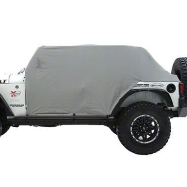 Smittybilt Water Resistant Cab Cover w/o Door Flaps (87-91 Jeep Wrangler YJ)