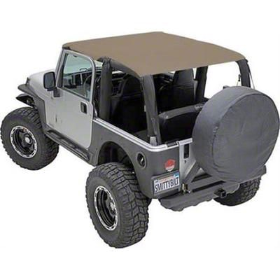Smittybilt Extended Brief Top - Spice Denim (92-95 Jeep Wrangler YJ)