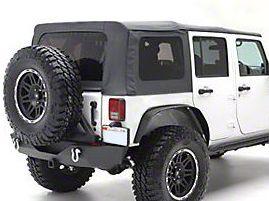 Smittybilt OEM Replacement Soft Top w/ Tinted Windows- Black Diamond (10-18 Jeep Wrangler JK 4 Door)