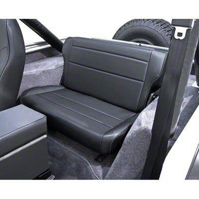 Rugged Ridge Fold & Tumble Rear Seat - Nutmeg (87-95 Jeep Wrangler YJ)